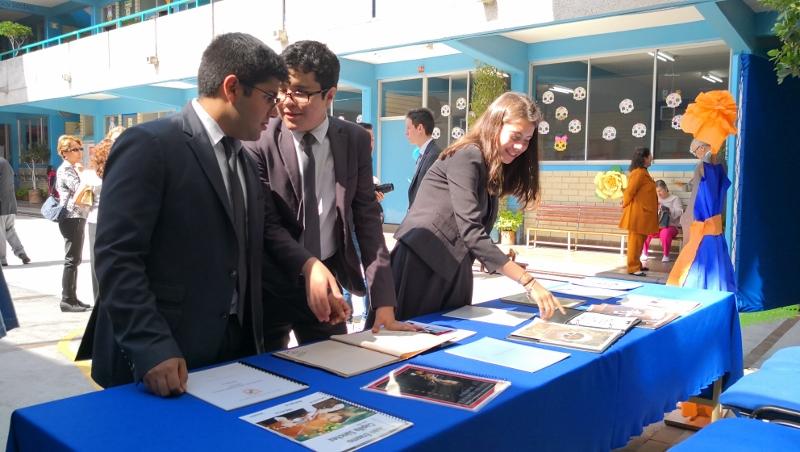 Trabajos de investigación elaborados por los alumnos de los niveles de Secundaria y Preparatoria